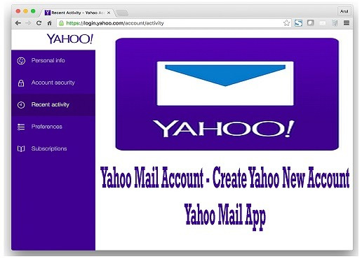 how to open a yahoo email account