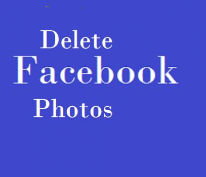 Delete Facebook Photos