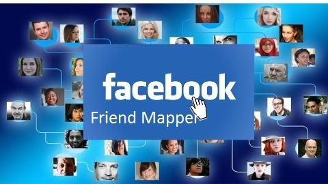 Facebook Friend Mapper